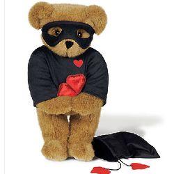 "15"" Love Bandit Teddy Bear"