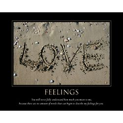 Feelings Personalized Artwork