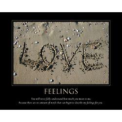 Feelings Personalized Artwork