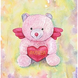 Valentine Bear Fine Art Print