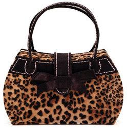 Talia Leopard Handbag Jewelry Box