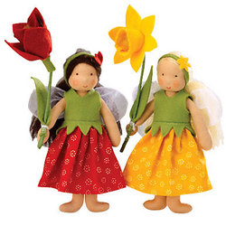 Spring Flower Fairy Doll