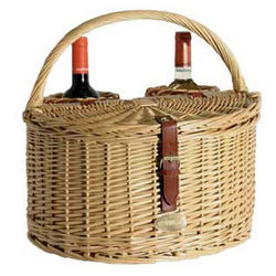 Reservations Wine Picnic Basket for Two