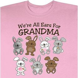 Personalized We're All Ears T-Shirt