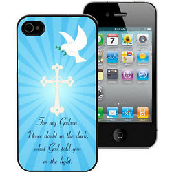 God's Light Personalized iPhone 4 Case