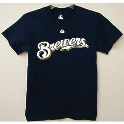 Brewers Mens Wordmark T-Shirt