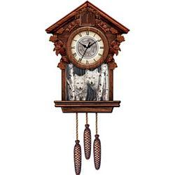 Wolf Art Cuckoo Clock