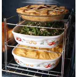 3-Tier Oven Casserole Baking Rack