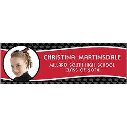 Long Custom Photo Graduation Banner