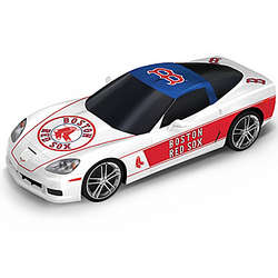 Boston Red Sox Home Run Cruiser Corvette Sculpture