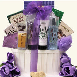 Lavender Spa Pleasures Mother's Day Bath & Body Gift Basket