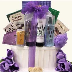 Lavender Spa Pleasures Mother's Day Bath & Body Gift Basket