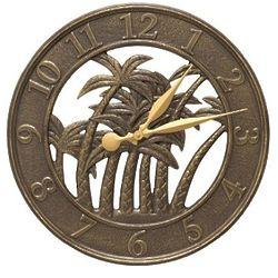 Palm Indoor/Outdoor Wall Clock