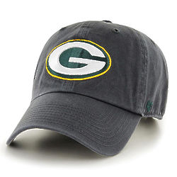 Men's Green Bay Packers Charcoal Baseball Cap