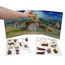 Story of Christmas Magnet Toy Set