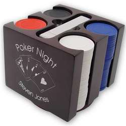 Revolving Poker Player Gift Set