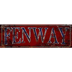Fenway Red Sign