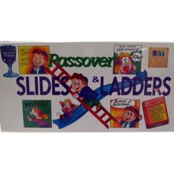 Passover Slides & Ladders Board Game