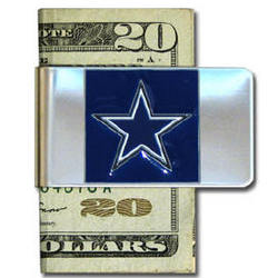 Personalized Dallas Cowboys Large NFL Money Clip