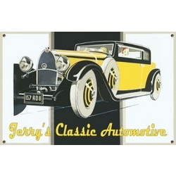 Personalized Classic Automotive Sign