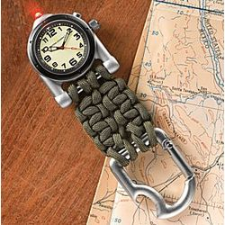 Para-Cord Clip Watch