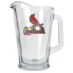 St. Louis Cardinals Glass Pitcher