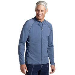 Men's Zip Front UPF 50+ Swim Shirt