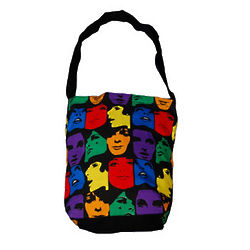Retro Graphics Tote Bag