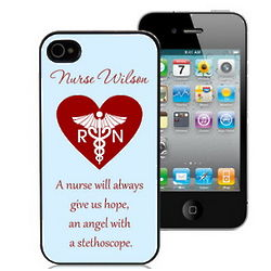 Nurse's Personalized Case for iPhone 4