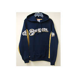 Brewers Mens Hooded Sweatshirt