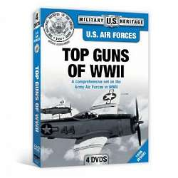 US Air Force Top Guns Of WWII DVD Set