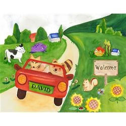 The Road to Animal Land Fine Art Print
