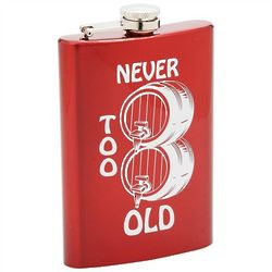 Never Too Old Flask
