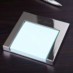 Personalized Executive Post It Note Holder
