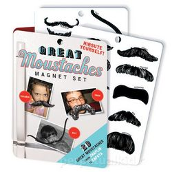 Great Moustaches Magnet Set