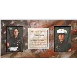 My Hero Soldier Prayer Frame