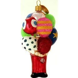 Balloon Vendor Christmas Ornament