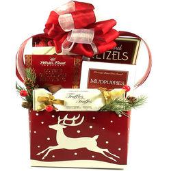 Christmas Reindeer Gourmet Sweets Gift Box