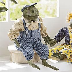 Claude Frog Figurine