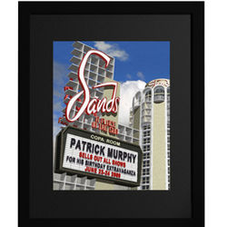 Sands Hotel Personalized Framed Print