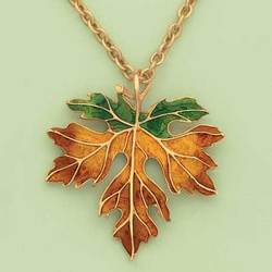 Autumn Leaf Pendant