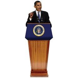 Obama Podium Standee