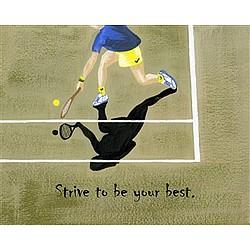Tennis Anyone Art Print