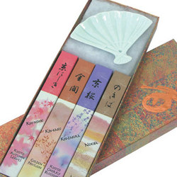 Fan Incense Gift Set
