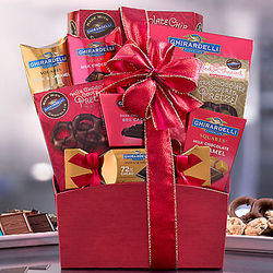Ghirardelli Selection Gift Basket