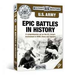 US Army Epic Battles in History DVD Set