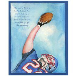 Football MVP Fine Art Print
