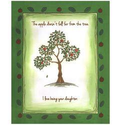 Personalized Autumn Tree Art Print