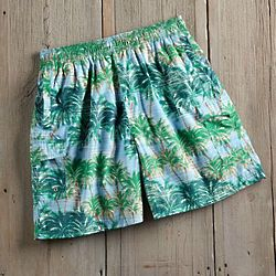 Hawaiian Tropical Swim Shorts