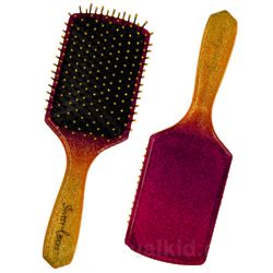 Strawberry Scented Glitter Hairbrush